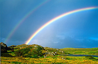 Double rainbow, County Clare, Ireland
