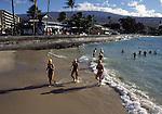 swimmers at Kailua Kona