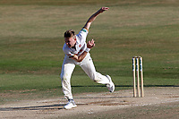Sam Cook in bowling action for Essex during Essex CCC vs Somerset CCC, Specsavers County Championship Division 1 Cricket at The Cloudfm County Ground on 28th June 2018