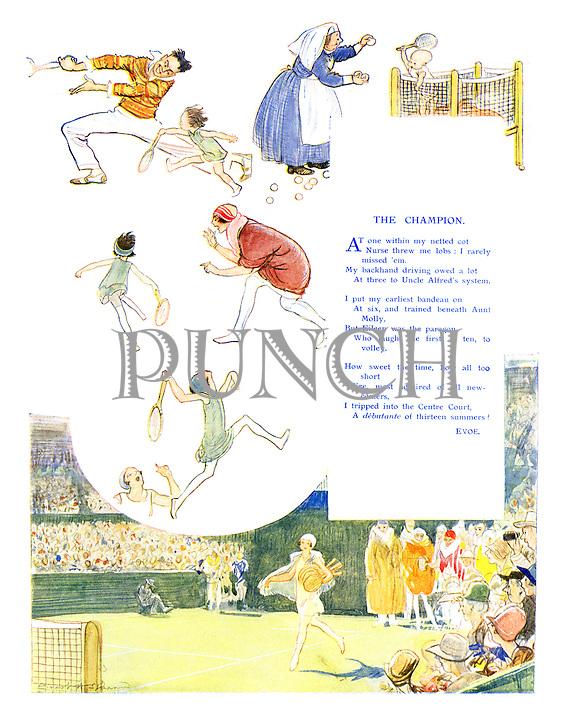 The Champion by EV Knox (EVOE) (Illustrated poem)