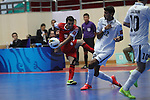 Bank of Beirut vs Dabiri Tabriz during the 2014 AFC Futsal Club Championship Group Stage B match on August 25, 2014 at the Shuangliu Sports Centre in Chengdu, China. Photo by World Sport Group