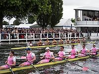 Henley Royal Regatta, Henley on Thames, Oxfordshire, 28 June - 2 July 2017.  Wednesday  14:37:14   28/06/2017  [Mandatory Credit/Intersport Images]<br /> <br /> Rowing, Henley Reach, Henley Royal Regatta.<br /> <br /> The Princess Elizabeth Challenge Cup<br />  Shiplake College v  Westminster School