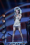 "Adrienne Warren during the ""Tina - The Tina Turner Musical"" Opening Night Curtain Call at the Lunt-Fontanne Theatre on November 07, 2019 in New York City."