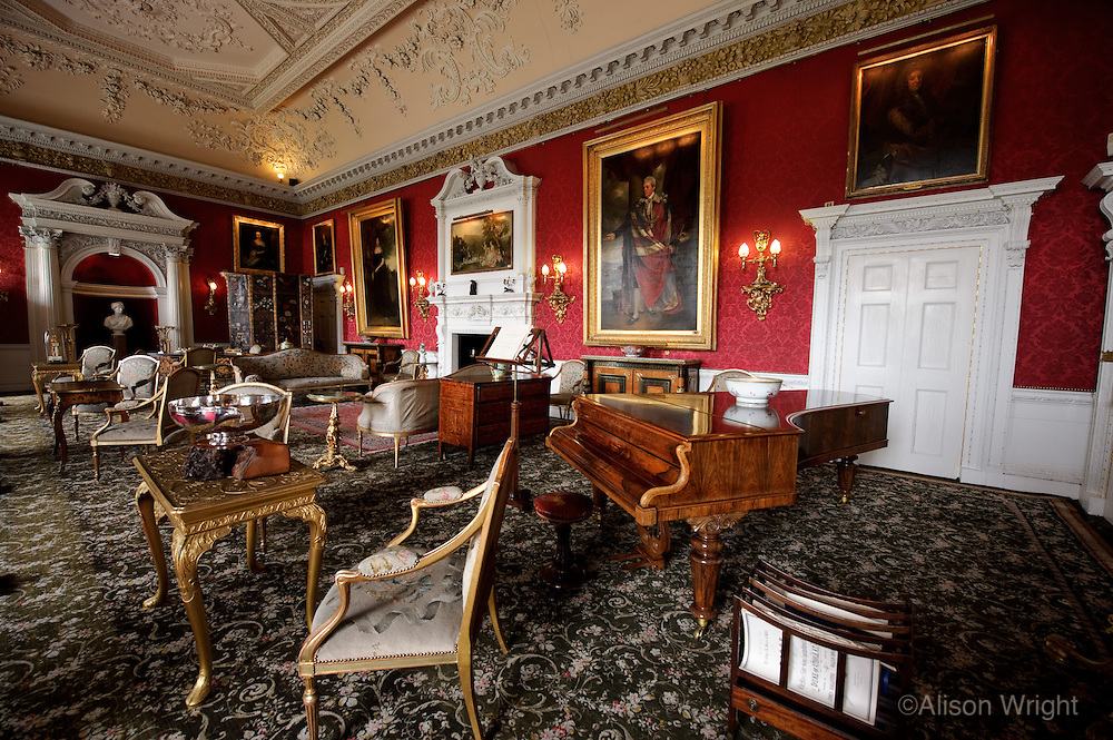 Blair Castle, the drawing room