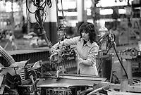 - Turin, FIAT Mirafiori factory (1985)....- Torino, stabilimento FIAT Mirafiori (1985)