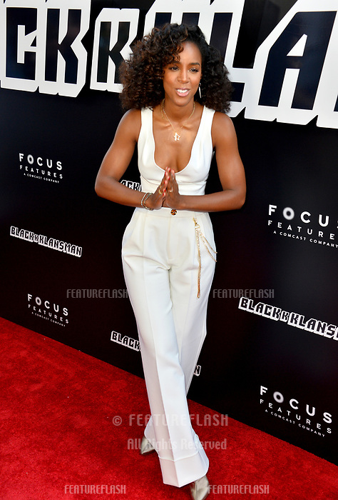 """Kelly Rowland at the Los Angeles premiere of """"BlacKkKlansman"""" at the Academy's Samuel Goldwyn Theatre, Beverly Hills, USA 08 Aug. 2018<br /> Picture: Paul Smith/Featureflash/SilverHub 0208 004 5359 sales@silverhubmedia.com"""