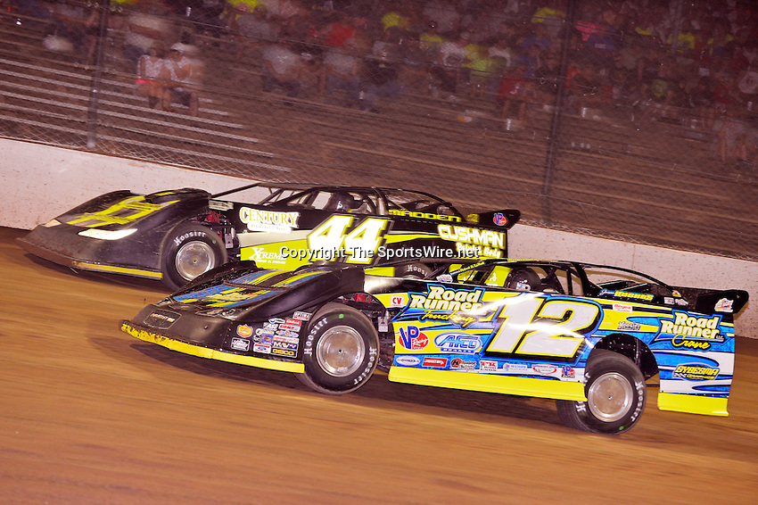 Jun 7, 2014; 9:10:22 PM; Rossburg, OH., USA; The 20th annual Dirt Late Model Dream XX in an expanded format for Eldora's $100,000-to-win race includes two nights of double features, 567 laps of action  Mandatory Credit:(thesportswire.net)