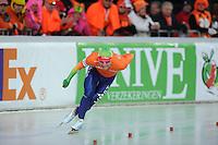 SCHAATSEN: BOEDAPEST: Essent ISU European Championships, 08-01-2012, 10000m Men, Koen Verweij NED, ©foto Martin de Jong
