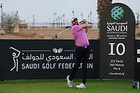 Matthew Southgate (ENG) on the 10th during Round 2 of the Saudi International at the Royal Greens Golf and Country Club, King Abdullah Economic City, Saudi Arabia. 31/01/2020<br /> Picture: Golffile | Thos Caffrey<br /> <br /> <br /> All photo usage must carry mandatory copyright credit (© Golffile | Thos Caffrey)