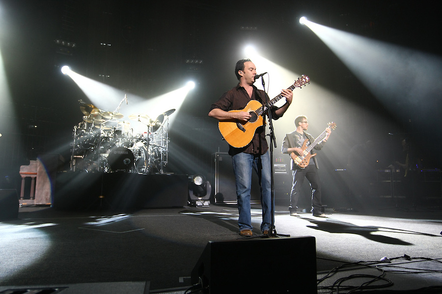 The Dave Matthews Band performed at the John Paul Jones Arena on the Grounds of the University of Virginia in Charlottesville, VA. on April 17, 2009.
