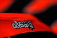 6-8 August, 2010, Watkins Glen, New York USA.Graphics: Robby Gordon's car..©2010 F.Peirce Williams, USA.