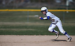 Wildcats' Katelyn Bomar runs in a college softball game against Snow College at Edmonds Sports Complex in Carson City, Nev., on Friday, March 6, 2014. <br /> Photo by Cathleen Allison/Nevada Photo Source