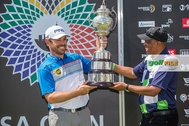 Louis Oosthuizen (RSA) winner of the SA Open, Randpark Golf Club, Johannesburg, Gauteng, South Africa. 8/12/18<br /> Picture: Golffile | Tyrone Winfield<br /> <br /> <br /> All photo usage must carry mandatory copyright credit (&copy; Golffile | Tyrone Winfield)