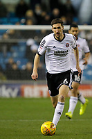 Chris Basham of Sheffield United dribbles out during the Sky Bet Championship match between Millwall and Sheff United at The Den, London, England on 2 December 2017. Photo by Carlton Myrie / PRiME Media Images.