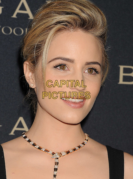 WEST HOLLYWOOD, CA- FEBRUARY 25: Actress Dianna Agron arrives at the BVLGARI 'Decades Of Glamour' Oscar Party Hosted By Naomi Watts at Soho House on February 25, 2014 in West Hollywood, California.<br /> CAP/JOR<br /> &copy;Nils Jorgensen/Capital Pictures