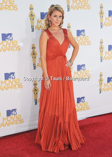 Lo Bosworth _139   -<br /> MTV Movie Awards 2010 at the Gibson Amphitheatre In Los Angeles.