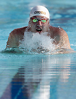 Il tedesco Marco Koch vince i 200 metri rana uomini durante la terza giornata del Trofeo Settecolli di nuoto al Foro Italico, Roma, 16 giugno 2012..Germany's Marco Koch swims to win the Men's 200 meters Breaststroke during the third day of the Seven Hills swimming trophy in Rome, 16 june 2012..UPDATE IMAGES PRESS/Riccardo De Luca