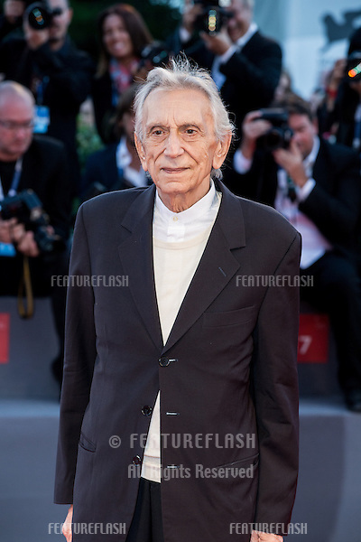 Roberto Herlitzka  at the premiere of Blood Of My Blood at the 2015 Venice Film Festival.<br /> September 8, 2015  Venice, Italy<br /> Picture: Kristina Afanasyeva / Featureflash
