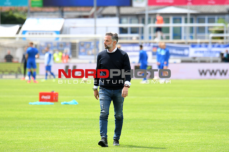 28.06.2020, Hänsch-Arena, Meppen, GER, 3.FBL, SV Meppen vs. FC Ingolstadt 04 <br /> <br /> im Bild<br /> Trainer Tomas Oral (FC Ingolstadt 04)<br /> <br /> DFL REGULATIONS PROHIBIT ANY USE OF PHOTOGRAPHS AS IMAGE SEQUENCES AND/OR QUASI-VIDEO<br /> <br /> Foto © nordphoto / Paetzel