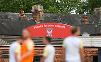 A general view of Bootham Crescent, home of York City<br /> <br /> Photographer Alex Dodd/CameraSport<br /> <br /> Football Pre-Season Friendly - York City v Leeds United - Wednesday 10th July 2019 - Bootham Crescent - York<br /> <br /> World Copyright © 2019 CameraSport. All rights reserved. 43 Linden Ave. Countesthorpe. Leicester. England. LE8 5PG - Tel: +44 (0) 116 277 4147 - admin@camerasport.com - www.camerasport.com