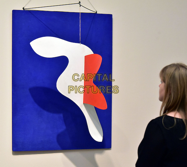 Tate Modern opens UK's largest ever retrospective of Alexander Calder&rsquo;s work, Alexander Calder: Performing Sculpture. Calder was one of the truly ground-breaking artists of the 20th century and as a pioneer of kinetic sculpture, played an essential role in shaping the history of modernism. Alexander Calder: Performing Sculpture will bring together approximately 100 works to reveal how Calder turned sculpture from a static object into a continually changing work to be experienced in real time.  London November 9, 2015;<br /> CAP/JOR<br /> &copy;JOR/Capital Pictures