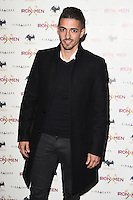 Manuel Lanzini<br /> arrives for the &quot;Iron Men&quot; premiere at the Mile End Genesis cinema, London.<br /> <br /> <br /> &copy;Ash Knotek  D3236  02/03/2017