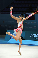August 28, 2013 - Kiev, Ukraine - Valentina Castro Zumaran of Chile performs at 2013 World Championships.