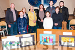 Ballyduff Horse Fair : Winners of the art competition held in conjunction with the horse fair in Ballyduff on Sunday were Fia Browne & Sarah Slattery pictured here with from l-r: Tom Lawlor, Fia Browne, Assumpta Dore, Marjorie Cunningham, Martina Jones, Sarah Slattery, Maurice O'Connor, Kay Flannagan & Frankie O'Brien.