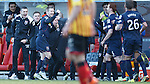 Ross County boss Jim McIntyre celebrates