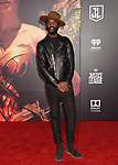 HOLLYWOOD, CA - NOVEMBER 13: Musician Gary Clark Jr. arrives at the Premiere Of Warner Bros. Pictures' 'Justice League' at the Dolby Theatre on November 13, 2017 in Hollywood, California.