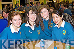 Ma?ire?ad Leen, Ciara Finnerty, Risalyat Khussainova and Aisling Shalvey from Mercy Mounthawk School, Tralee pictured at the Kerry Science Teachers Association Junior Cert Science Quiz at IT Tralee south campus on Wednesday the 25th March.