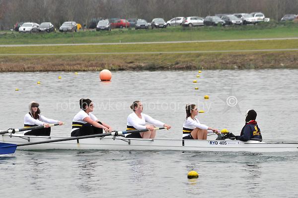 511 RydeRC CoastalWNov4+..Marlow Regatta Committee Thames Valley Trial Head. 1900m at Dorney Lake/Eton College Rowing Centre, Dorney, Buckinghamshire. Sunday 29 January 2012. Run over three divisions.
