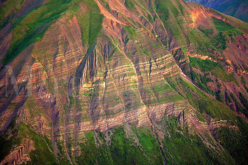 Mountins near McCarthy, Wrangell-St. Elias National Park and Preserve, Alaska