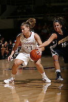 STANFORD, CA - NOVEMBER 8:  Jeanette Pohlen of the Stanford Cardinal during Stanford's 107-55 win over the UCSD Toreros on November 8, 2009 at Maples Pavilion in Stanford, California.