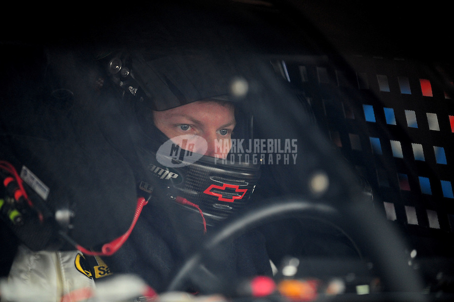 Sept. 20, 2008; Dover, DE, USA; Nascar Sprint Cup Series driver Dale Earnhardt Jr during practice for the Camping World RV 400 at Dover International Speedway. Mandatory Credit: Mark J. Rebilas-