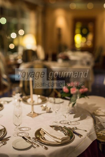 Europe/Allemagne/Bade-Würrtemberg/Forêt Noire/Baiersbronn/Gärtenbühlweg: Hôtel: Bareiss - Le Restaurant: Bareiss