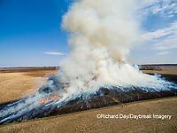 63863-02912 Prescribed Burn by IDNR Prairie Ridge State Natural Area Marion Co. IL