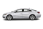 Car Driver side profile view of a 2017 Volkswagen CC Sport 4 Door Sedan Side View