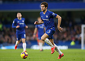 2nd February 2019, Stamford Bridge, London, England; EPL Premier League football, Chelsea versus Huddersfield Town; Marco Alonso of Chelsea running with the ball into midfield