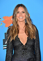 Heidi Klum at Nickelodeon's 2018 Kids' Choice Awards at The Forum, Los Angeles, USA 24 March 2018<br /> Picture: Paul Smith/Featureflash/SilverHub 0208 004 5359 sales@silverhubmedia.com