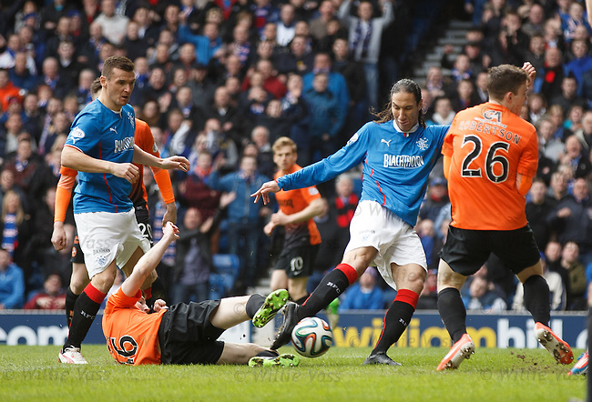 Bilel Mohsni has a shot on goal