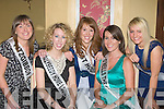 ROSES: Five of the girls who will be going for the title of the Kerry Rose at the Imperal Hotel, Tralee on Saturday night, l-r: Deirdre O'Connor(Fitzgibbon Interiors Tralee), Una Glazier-Farmer (ballyseedy Home & Outside Living, Tralee), Karen McGillycuddy(West Holidays Killorglin), Debbie O'Neill(O'Neill's Point Seafood Bar,Caherciveen) and Amy Powel (Toby World Tralee)..