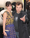 Jack Black and wife at The Dreamworks Animation L.A. Premiere of Kung Fu Panda 2 held at The Grauman's Chinese Theatre in Hollywood, California on May 22,2011                                                                               © 2011 Hollywood Press Agency
