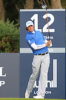 Peter Uihlein (USA) on the 12th tee during Round 3 of the 2015 Alfred Dunhill Links Championship at Kingsbarns in Scotland on 3/10/15.<br /> Picture: Thos Caffrey | Golffile