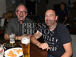 Brian Bonallie and Dermot Murphy at the Slane GFC grand draw night at Dolly Mitchells. Photo:Colin Bell/pressphotos.ie