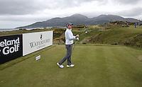 27 May 2015; Rory McIlroy changes his ball at the Par 4 9th.<br /> <br /> Dubai Duty Free Irish Open Golf Championship 2015, Pro-Am. Royal County Down Golf Club, Co. Down. Picture credit: John Dickson / DICKSONDIGITAL