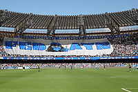 Napoli supporters FEDAYN banner for the anniversary of the group's birth<br /> Napoli 29-9-2019 Stadio San Paolo <br /> Football Serie A 2019/2020 <br /> SSC Napoli - Brescia FC<br /> Photo Cesare Purini / Insidefoto