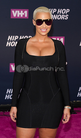 New York, NY July 11: Amber Rose attends the VH1 Hip Hop Honors: All Hail The Queens at David Geffen Hall on July 11, 2016 in New York City.@John Palmer / Media Punch