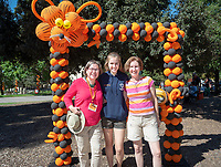 Oswald's Carnival and Tailgate party, part of Homecoming and Family Weekend 2018, on Saturday, Oct. 20, 2018 in the Academic Quad. Students, parents, alumni and staff join Oswald for a festive pre-game Homecoming celebration, complete with a BBQ lunch, music, interactive games and spirit booths led by student clubs.<br />