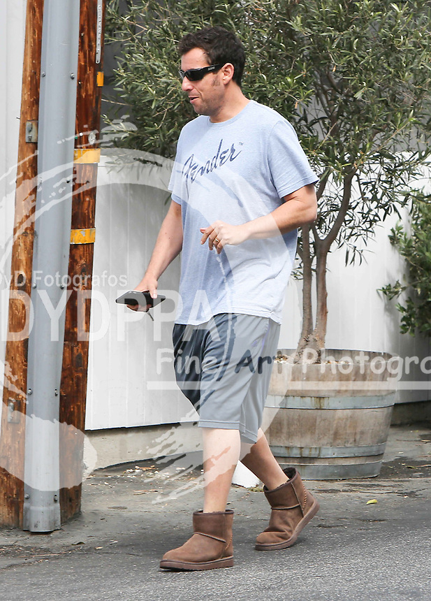 **ALL ROUND PICTURES FROM SOLARPIX.COM**<br /> **SYNDICATION RIGHTS FOR UK, AUSTRALIA, DENMARK, PORTUGAL, S. AFRICA, SPAIN &amp; DUBAI (U.A.E) &amp; ASIA (EXCLUDING JAPAN) ONLY**<br /> Caption:Hollywood actor Adam Sandler Sighted in Los Angeles.<br /> This pic: Adam Sandler<br /> JOB REF: 18197  PHZ/STPR   DATE:14.05.2015<br /> **MUST CREDIT SOLARPIX.COM OR DOUBLE FEE WILL BE CHARGED**<br /> **MUST AGREE FEE BEFORE ONLINE USAGE**<br /> **CALL US ON: +34 952 811 768 or LOW RATE FROM UK 0844 617 7637**
